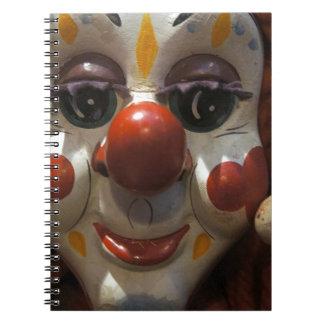 Clown Face Notebook