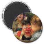 Clown - Face Painting Fridge Magnets