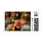Clown - Face Painting Postage