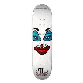 Clown Face Skateboard Deck