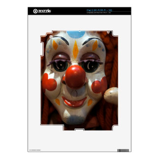 Clown Face Skins For iPad 2