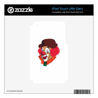 Clown Face Skins For iPod Touch 4G