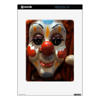 Clown Face Skins For The iPad