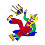 Clown fell off stool acrylic cut outs