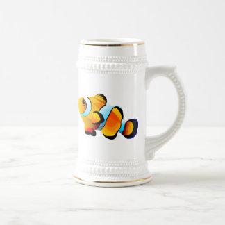 Clown Fish Beer Stein