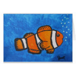 Clown Fish by Joel Anderson Greeting Card