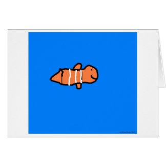 Clown Fish Card