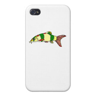 Clown Fish Case For iPhone 4