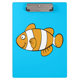 Clown Fish Clipboards