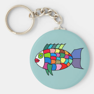 Clown fish clown fish keychain