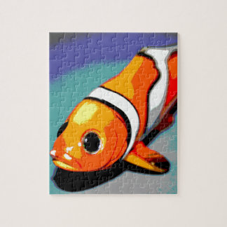 Clown Fish Design Jigsaw Puzzle