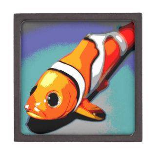 Clown Fish Design Keepsake Box