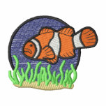 Clown Fish Embroidered Hooded Sweatshirts