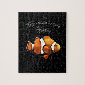 Clown fish jigsaw puzzle