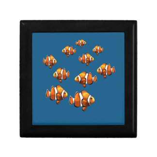 Clown fish keepsake box
