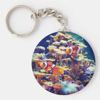 Clown Fish Keychain