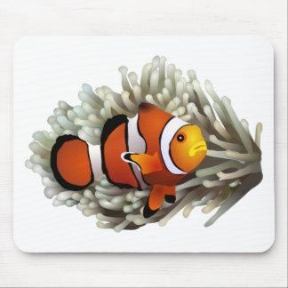 Clown Fish Mouse Pads