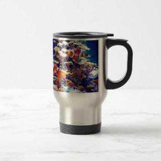 Clown Fish 15 Oz Stainless Steel Travel Mug
