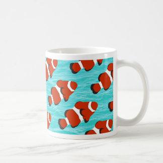 Clown fish pattern coffee mug