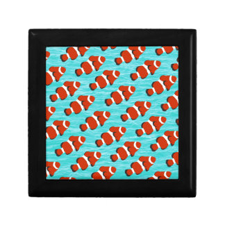 Clown fish pattern jewelry box