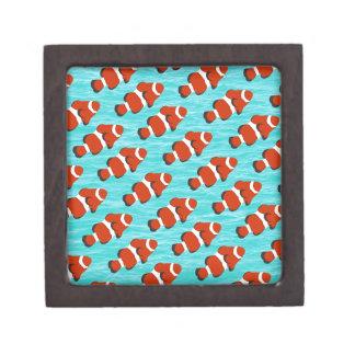 Clown fish pattern jewelry box