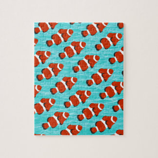 Clown fish pattern jigsaw puzzle