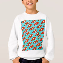 Clown fish pattern sweatshirt