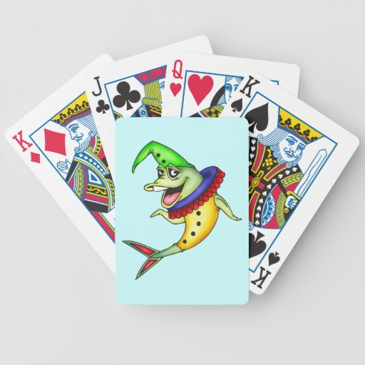 Clown Fish Playing Cards
