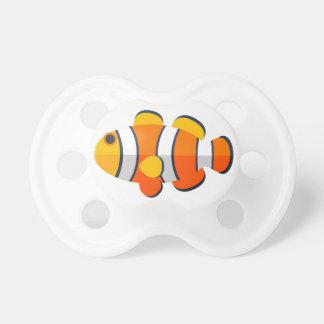 Clown Fish Primitive Style Pacifier