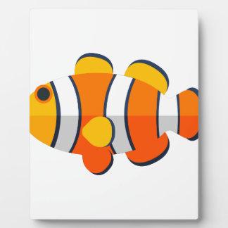 Clown Fish Primitive Style Plaque