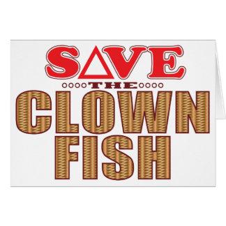 Clown Fish Save Card