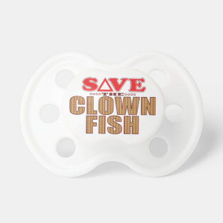 Clown Fish Save Pacifier