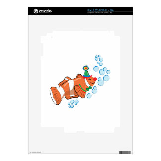 Clown Fish Decals For The iPad 2