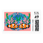 Clown Fish Stamps