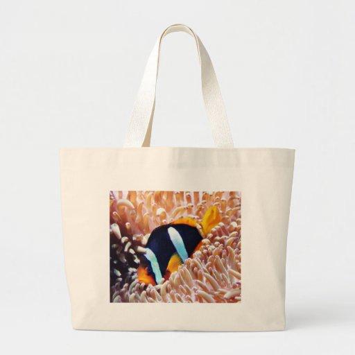 Clown Fish Tropical Fish Canvas Bag