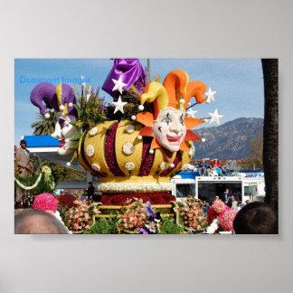 Clown Float Rose Parade Pasadena, Dominant Images Poster