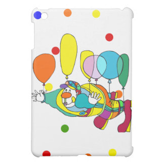 Clown flying by balloon cover for the iPad mini