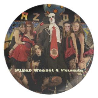 Clown & Friends Melamine Plate