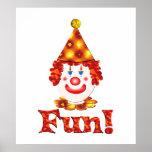 Clown Fun Poster