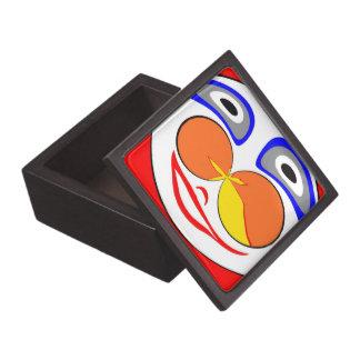 Clown funny face premium gift box