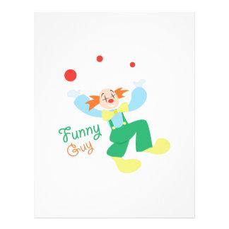Clown_FunnyGuy Membretes Personalizados