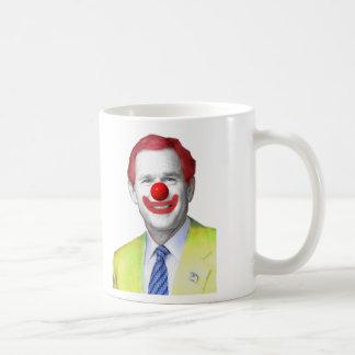 clown g bush 2, Bushythe Clown Coffee Mug