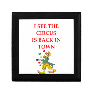 clown gift box