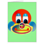 Clown Greeting Card