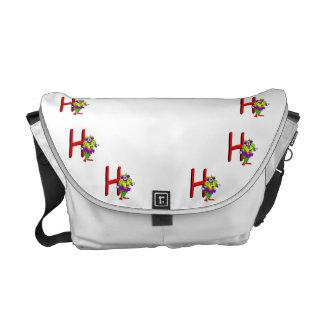 Clown H.png Messenger Bags