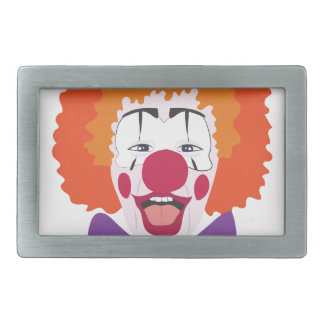 Clown Head Belt Buckle