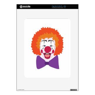 Clown Head Decal For The iPad
