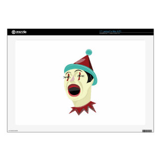 Clown Head Decals For Laptops
