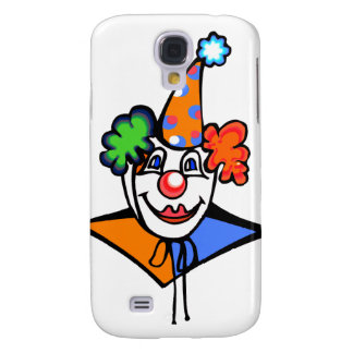 clown head galaxy s4 cover