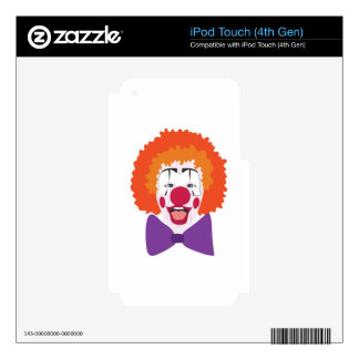 Clown Head iPod Touch 4G Skin